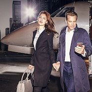 Affluent consumers flying Victor