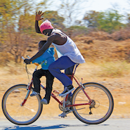 Abercrombie and Kent sends bicycles to Zambia
