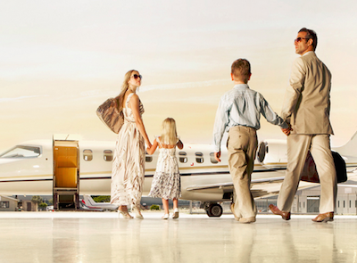 Αποτέλεσμα εικόνας για New survey looks at the travel habits of affluent families