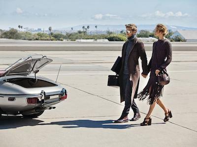Michael Kors affluent couple car