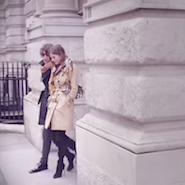 Image from Burberry's fall/winter 2015 campaign video
