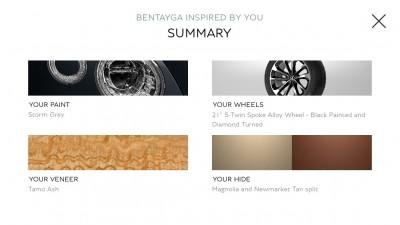Bentley Inspirator summary