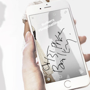Promotional image for Burberry's Snapchat Show