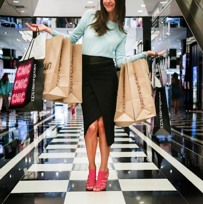 Bloomingdale's shopper