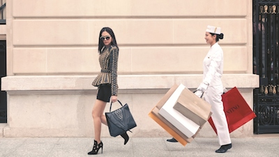 Peninsula Academy affluent Asian consumer shopping
