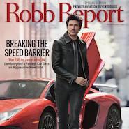 Robb Report September 2015 cover