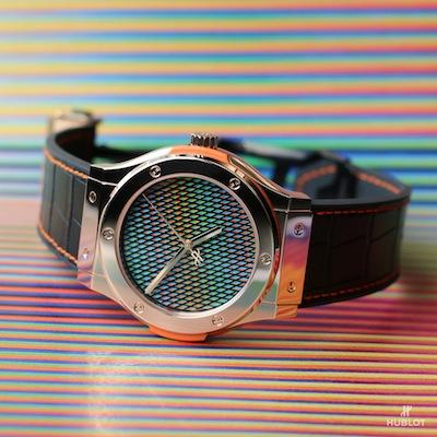 hublot.cruz-diez watch