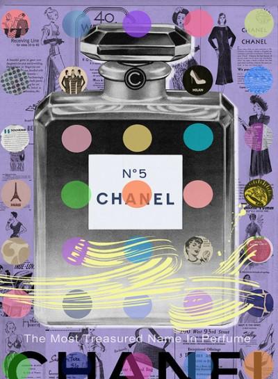 Chanel N°5 Purple Nelson De La Nuez