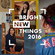 Promotional image for Selfridges' Bright New Things 2016