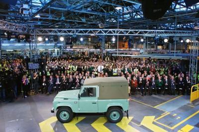 Land Rover Defender celebration event