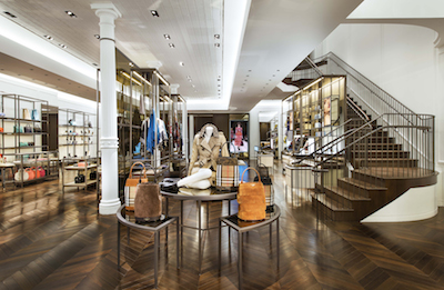 Burberry SoHo, 131 Spring Street New York, New York - Main Entry