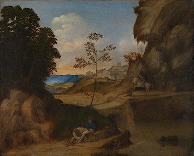 Giorgione painting
