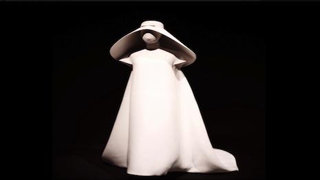 Archival Wedding Dress By Cristóbal Balenciaga 1967 Image Courtesy Of