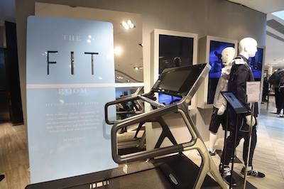 Lane Crawford Fit Room treadmill