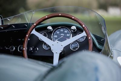 1953 Aston Martin DB3S interior