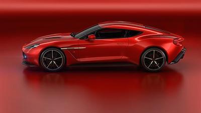 Aston Martin Vanquish Concept exterior