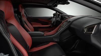 Aston Martin Vanquish concept interior