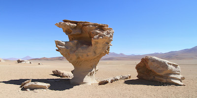 Siloli desert rock formations