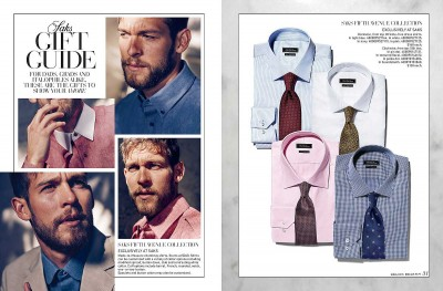 Saks Father's Day catalog