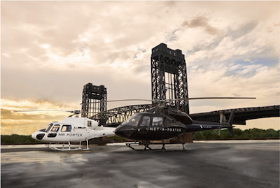 net-a-porter.blade helicopters