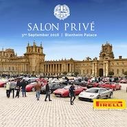 Pirelli is an associate sponsor of Salon Privé