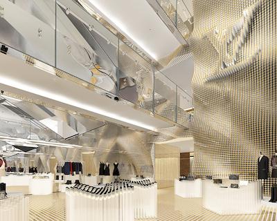 Printemps Louis Vuitton atrium