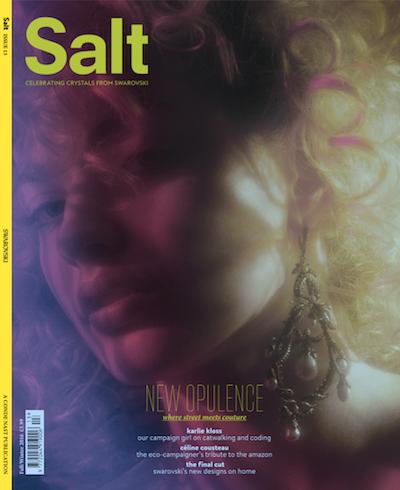 Swarovski.Conde Nast Salt cover