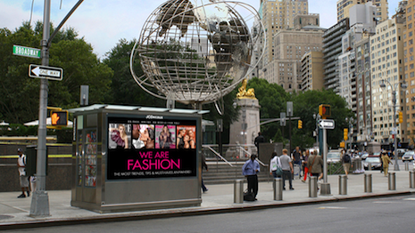 Hearst's We Are Fashion, seen on a newsstand in Columbus Circle, New York