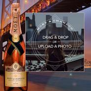 Moët & Chandon's City Bottle UGC site