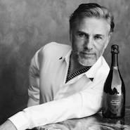 Christoph Waltz for Dom Pérignon's P2