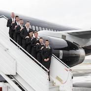 Four Seasons' private jet