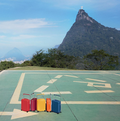 Louis vuitton.luggage in brazil