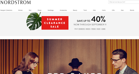 Nordstrom sees the back of summer