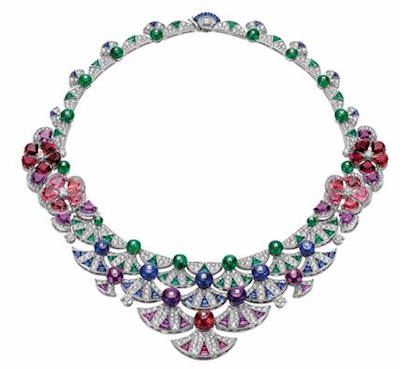 bulgari.spanish steps necklace