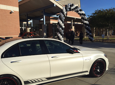 Mercedes benz teams with technical college on training program for Mercedes benz gwinnett ga