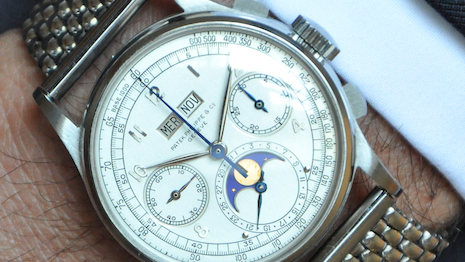 Phillips Sets New Watch Auction Record with Patek Philippe