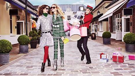 Image courtesy of Bicester Village; consumers are increasingly choosing experiences over things