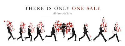 Harrods Sale promo