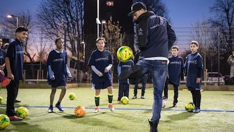 Laureus uses athletic outreach to reach youth