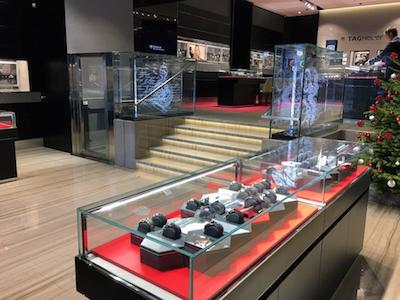 Tag Heuer Champs Elysees store home staging