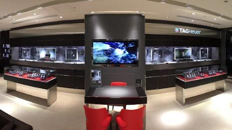 Tag Heuer's Fukuoka, Japan boutique after its makeover