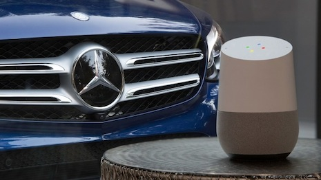 Mercedes-Benz partners with Google Home