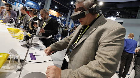Attendees test new technologies at CES 2017 in Las Vegas Jan. 5-8