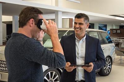 Jaguar Land Rover VR