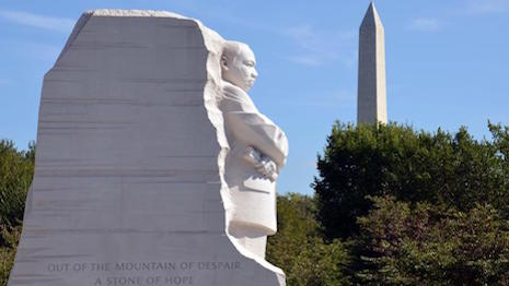 Martin Luther King, Jr. Memorial in Washington. Photo courtesy of the National Park Service