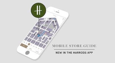 harrods.mobile store guide app