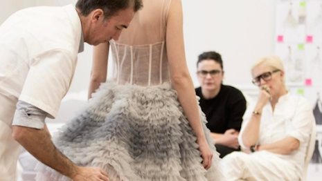 Inside Dior's atelier before its spring/summer 2017 show