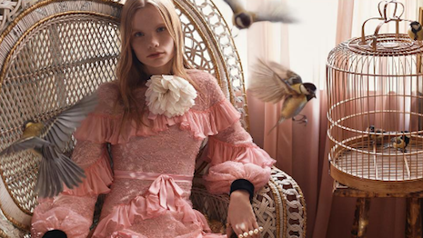 Image from Gucci's Bamboo campaign