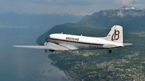 breitling dc-3 plane