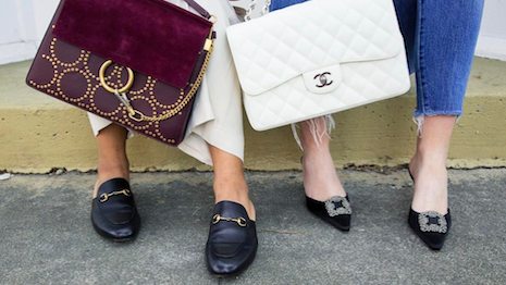 Chloe Chanel And Gucci Are Por Brands On The Consignment Market Image Credit Realreal